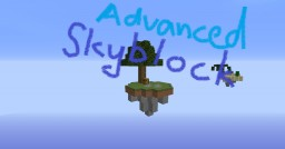 Advanced Skyblock Minecraft Map & Project