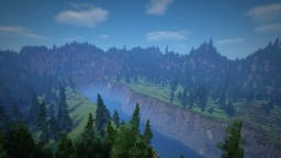 Custom Terrain for bridge building [template] Minecraft Map & Project