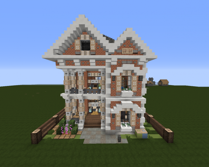 Small Victorian House | Download + Schematic Minecraft Project on