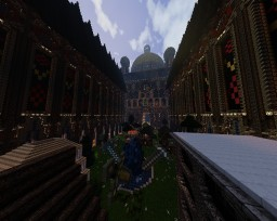 The V castle Minecraft Map & Project