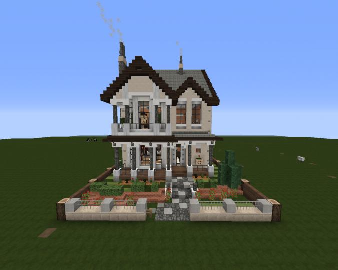 Small Victorian House 2 | Schematic + Download Minecraft Project on minecraft maze, minecraft enterprise blueprints, minecraft redstone schematics, minecraft schematics blueprints mob spawner, minecraft schematics and blueprints,