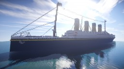 RMS Britannic (white star livery) + download Minecraft Map & Project
