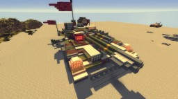 L-951 Mobile Base Weapons System [SYSTEM ERROR : DEFECTIVE] Minecraft Project