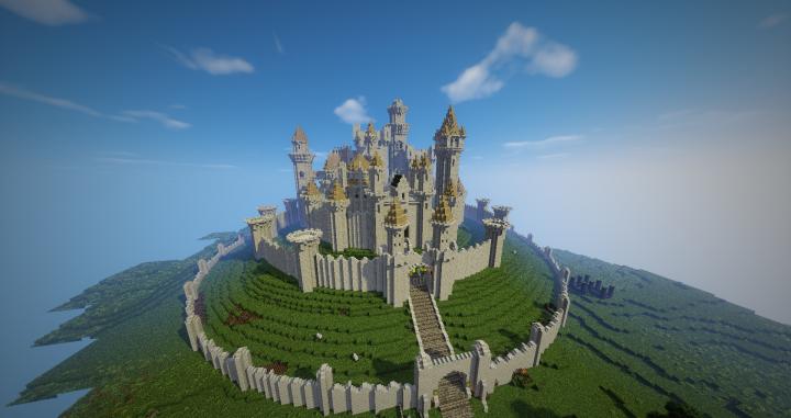 Highgarden Of House Tyrell Minecraft Project