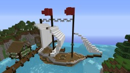 Galleon.. ehm...#NoCopyright Minecraft Map & Project