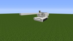 M109 Paladin with winter camo for noobs (beginners) Minecraft Map & Project