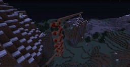 Random rollercoaster Minecraft Map & Project