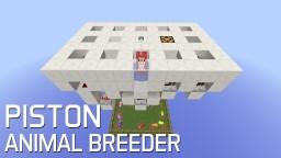 Redstone: 1.9 Piston Animal Breeder [Showcase] Minecraft