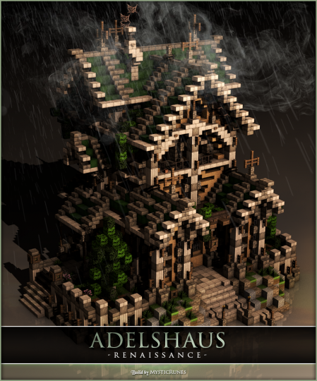 Noble House Renaissance Mysticrunes Minecraft Project
