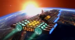 Ares-class Battlecruiser Minecraft Map & Project