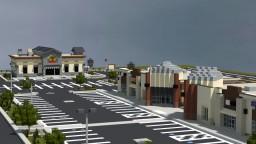 Pleasant Grove City Plaza Minecraft Project