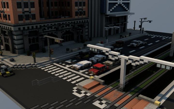 Gran Via intersection