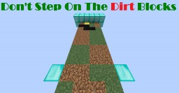 [1.9][Parkour] Don't Step On The Dirt Blocks Minecraft Project