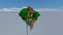 House on a flying island Minecraft Map & Project