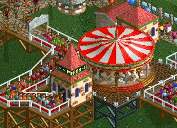 Roller Coaster Tycoon 2 V2 Minecraft Map & Project