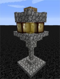 Solar-powered Street Lamp Minecraft Project
