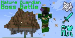 Nature Guardian Boss Battle in only one command! Minecraft Map & Project