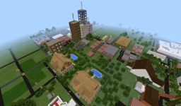 MINE CITY Pocket Edition 1.4 (Windows 10 Edition Supported) Minecraft Map & Project