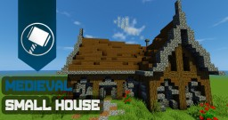 Medieval Small House Tutorial Minecraft Map & Project