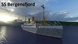 SS Bergensfjord Minecraft Map & Project