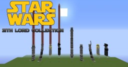 Sith Lord Lightsaber Collection Minecraft Project