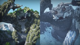 The Roar of Giants Minecraft Map & Project