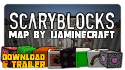 """""""Scary Blocks"""" - Adventure Map Singleplayer 1.8.7 Minecraft Map & Project"""