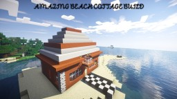 AMAZING SEASIDE COTTAGE! Minecraft Map & Project