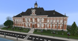 Town Hall / City Hall Minecraft Map & Project