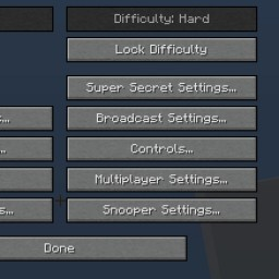 [SSP] Difficulty Locker [Forge] [1.7] Minecraft