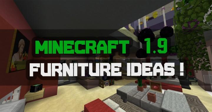 1 9 Update Furniture Ideas Minecraft Project