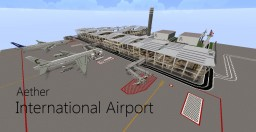 Aether International Airport Minecraft Map & Project