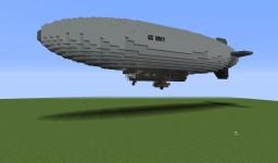 M Class Blimp Minecraft Map & Project