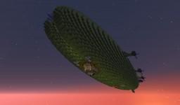 Navy Blockade Airship Minecraft Map & Project