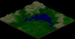 Terrain - Mountain/Forest  Lake Minecraft Project