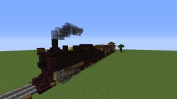 Rusted Steam Train Minecraft Project