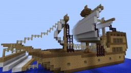 A Sailing Ship Minecraft Map & Project