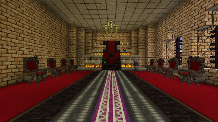 A view of the Black Gate Throne!
