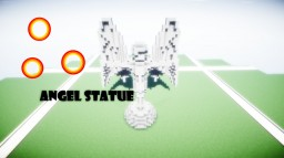 Angel Statue Schematic Minecraft Map & Project