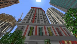 Belleview Office & Apartments  - Greenfield Minecraft Project