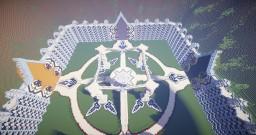 4 Portal Hub Minecraft Map & Project