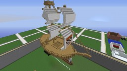 Flying Ship with Anchor Minecraft Map & Project
