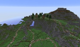 Taern - A sprawling, mountainous city. Minecraft