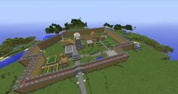 Survival Village Minecraft Map & Project