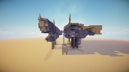 Small Spaceship ! Minecraft Map & Project