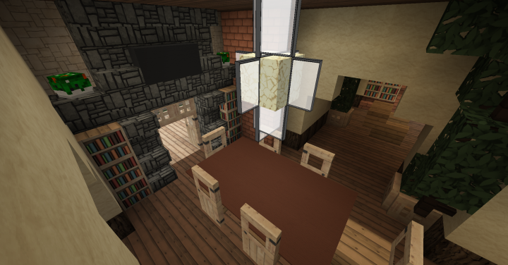 traditional house wok minecraft project. Black Bedroom Furniture Sets. Home Design Ideas
