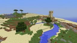 SoCal desert village Minecraft Map & Project