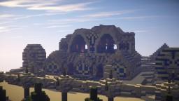 Desert Mansion | Desert Detour Entry Minecraft Map & Project