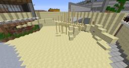 Jurassic World Spinosaurus skeleton Minecraft Project
