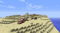 PMC solo contest - a desert detour - Desert rally - silboy_ghost Minecraft Map & Project